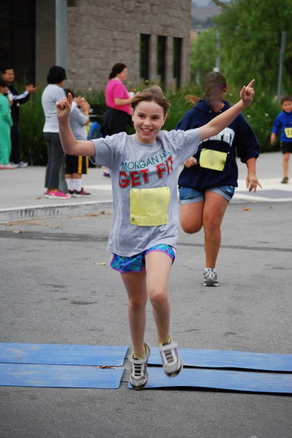 running get fit kid's race