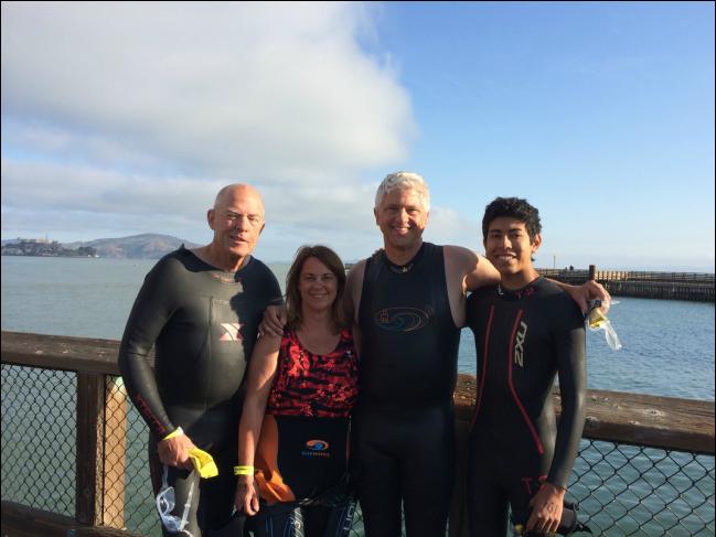 I swam Alcatraz!