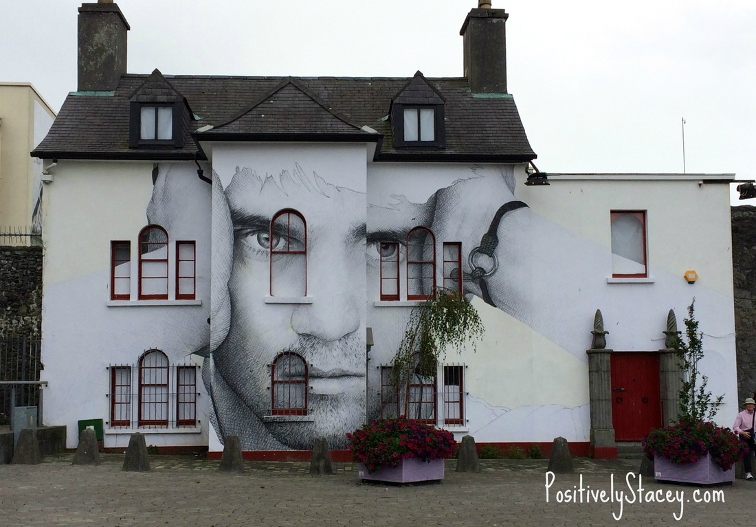 Building near the Spanish Arch, Galway
