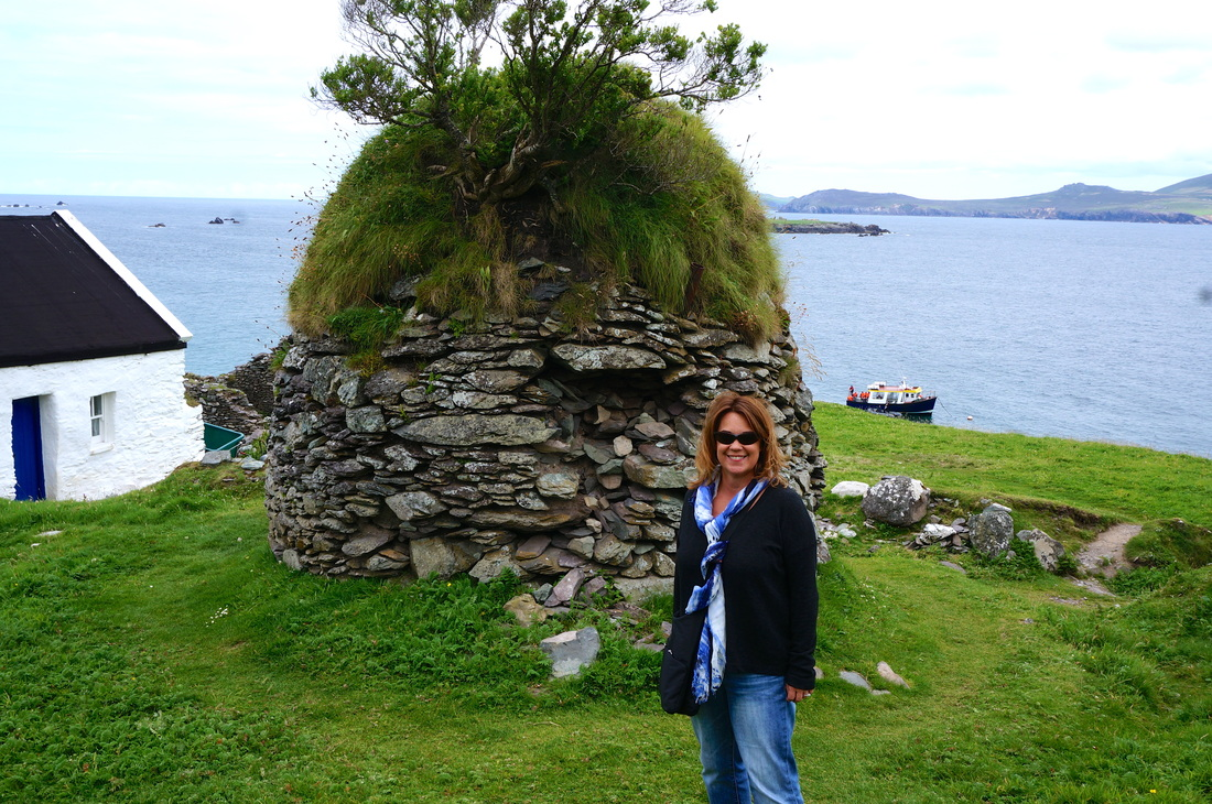 Exploring Blasket Island