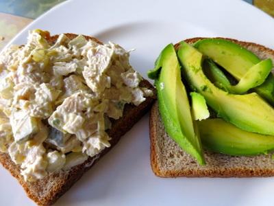 Budget Meal Planning chicken Salad Sandwiches