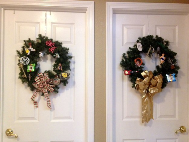 Personalized Christmas Wreaths