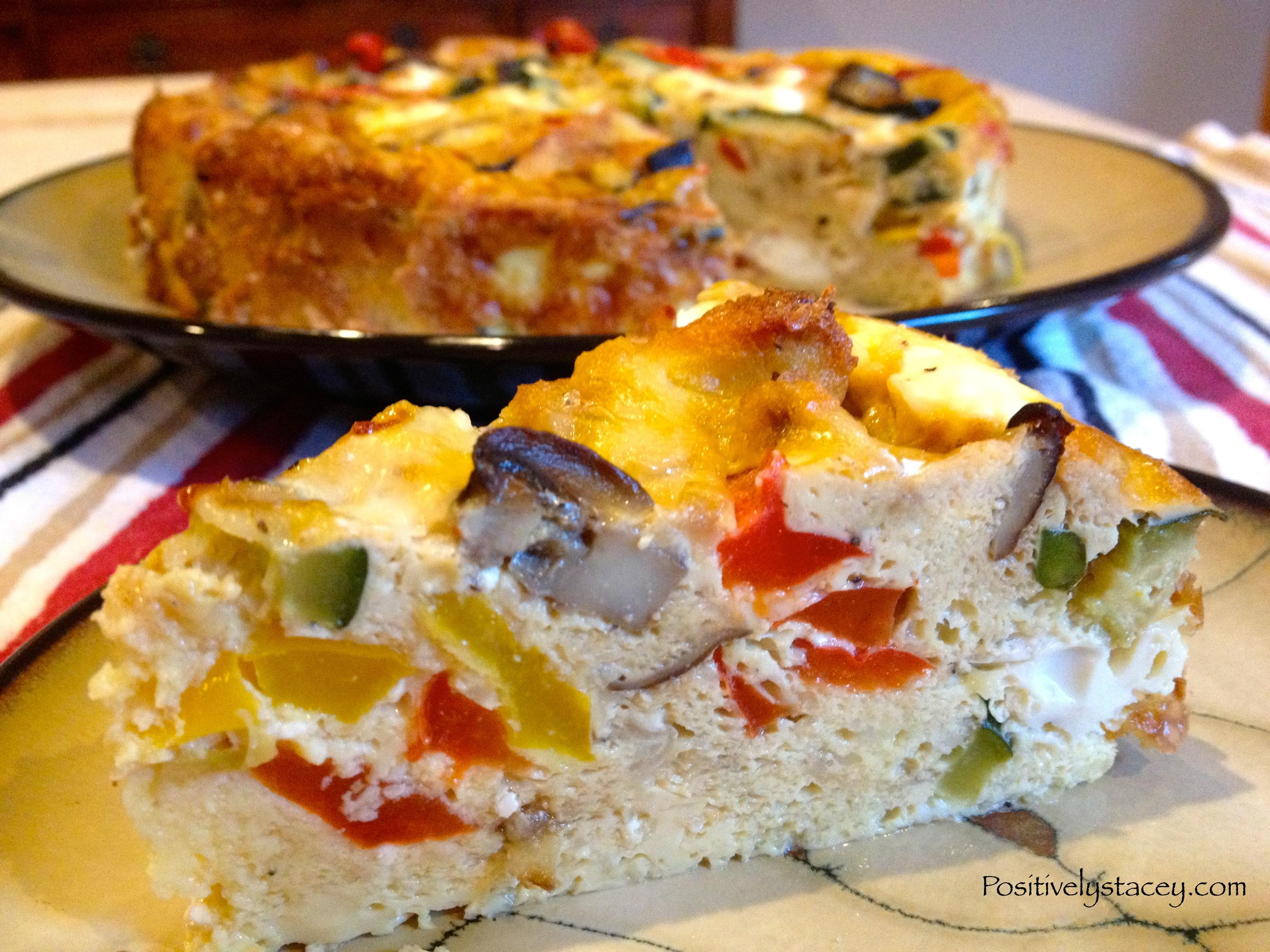 Vegetable Frittata – An Impressive Dish