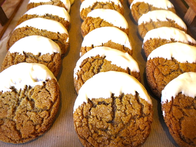 White-Chocolate-Dipped- Ginger-Snap-Cookies
