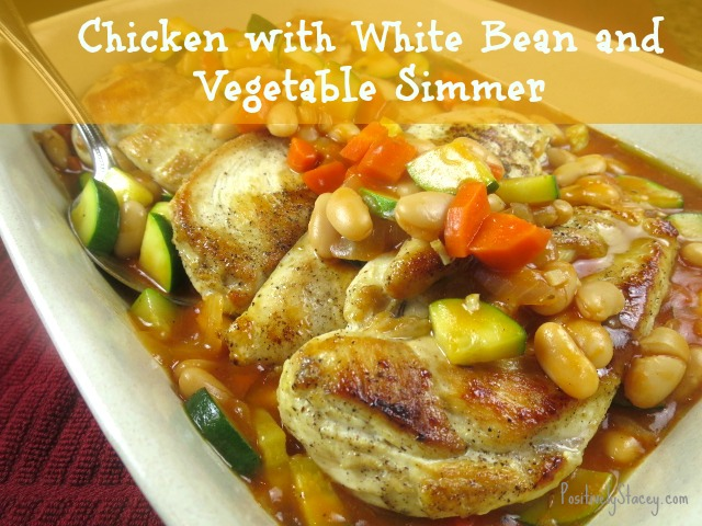Chicken with White Bean and Vegetable Simmer