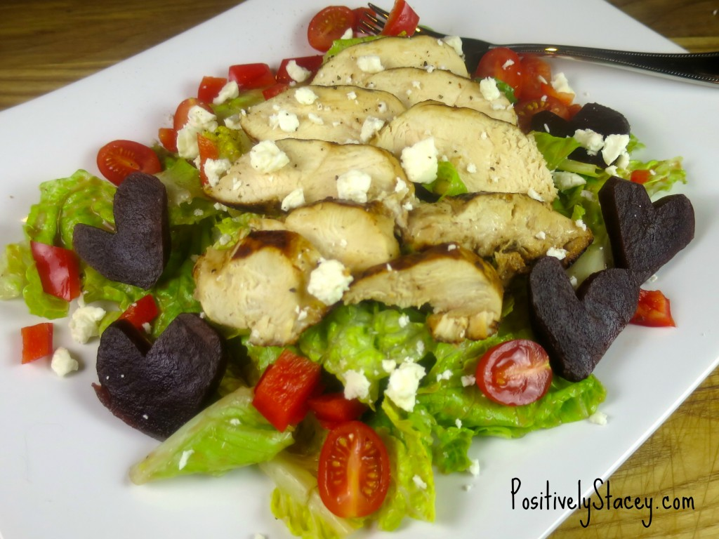 Grilled Chicken and Beet Salad