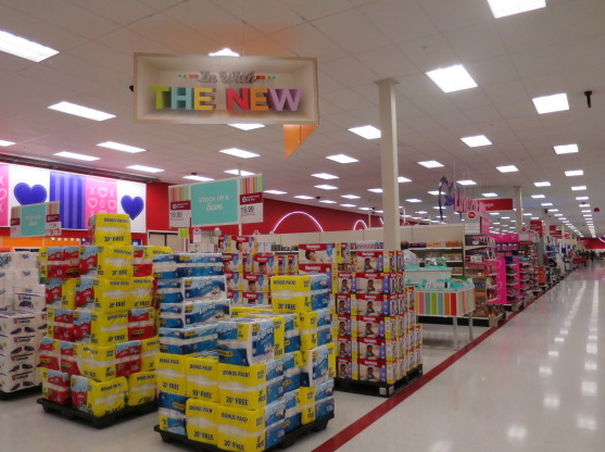 Target In with the New