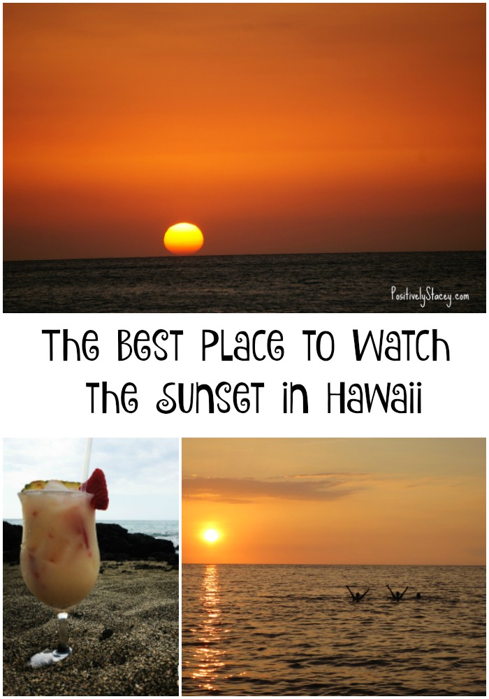 The Best Place to Watch the Sunset in Hawaii