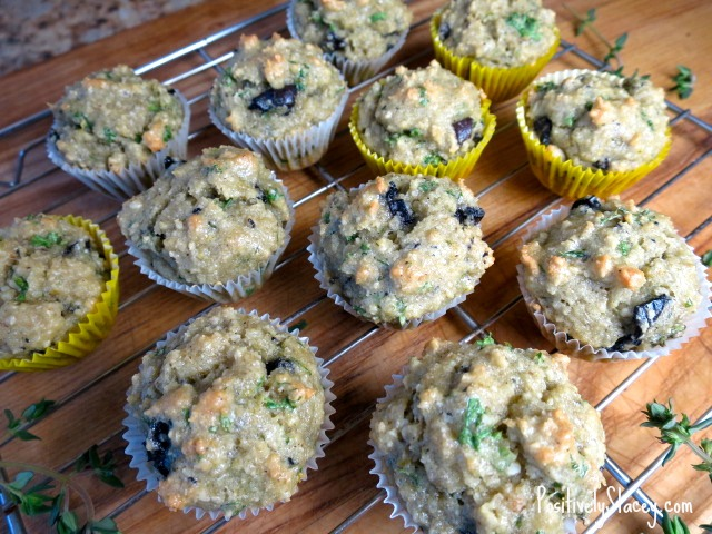 Olive, Lemon Zest, and Thyme Muffins