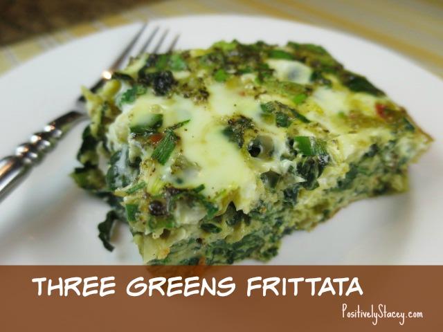 Three Greens Frittata
