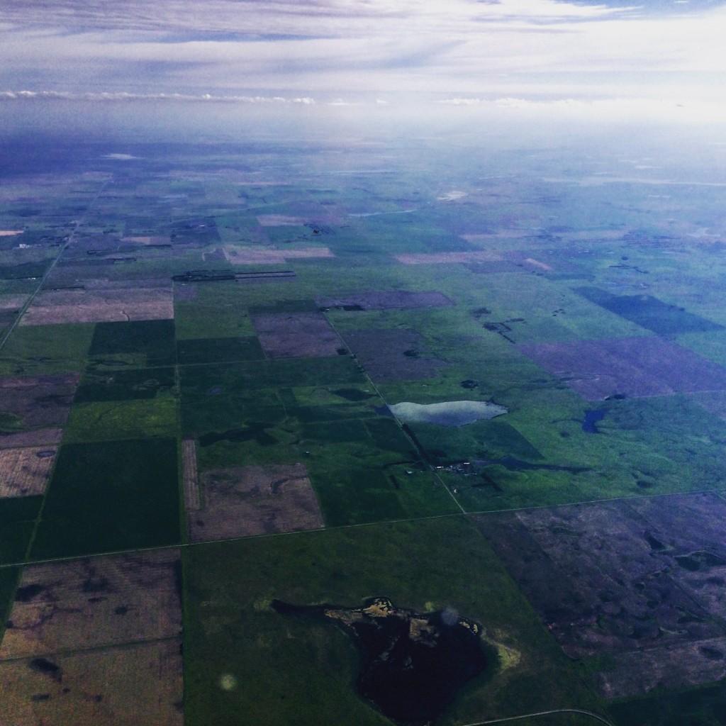 Landing in North Dakota