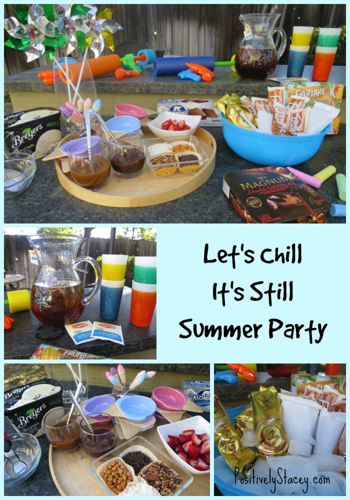 Let's Chill  It's Still Summer Party Cover