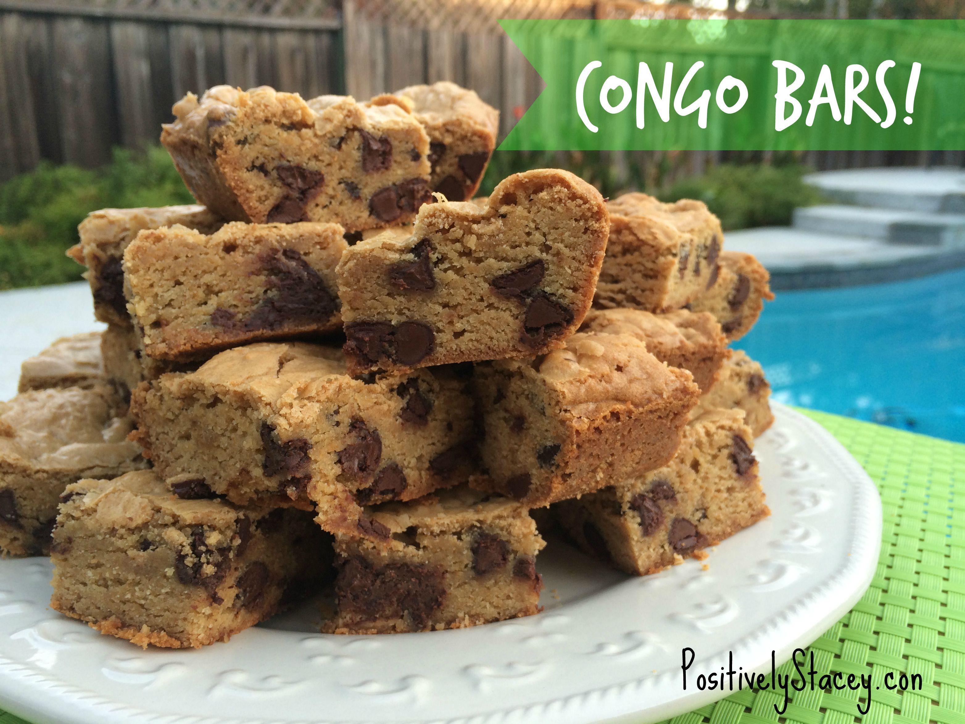 Congo Bars Recipe