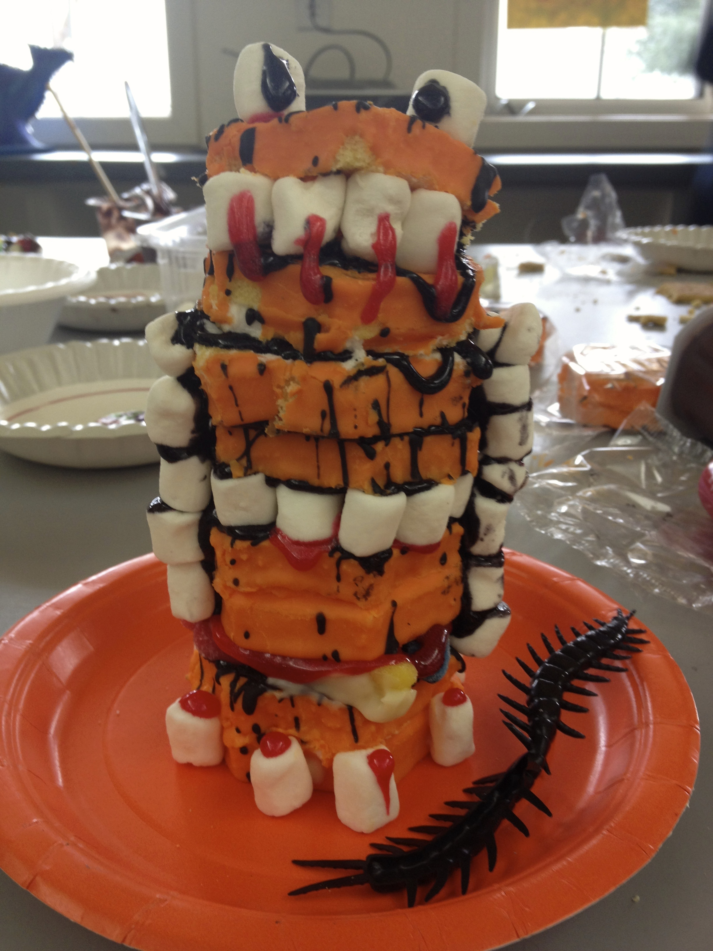 Halloween Party Fun with Edible Sculptures