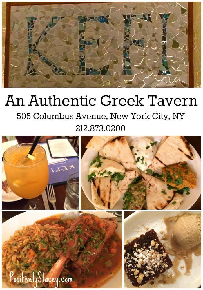We loved Kefi Restaurant in NYC! Amazing Greek Food!