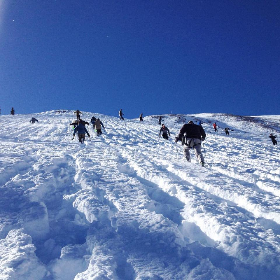 Bootpacking Highland's Bowl