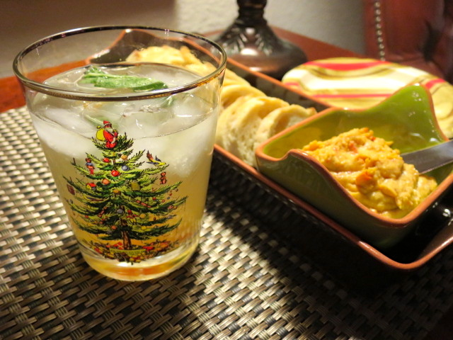 Pear and Ginger Cocktail