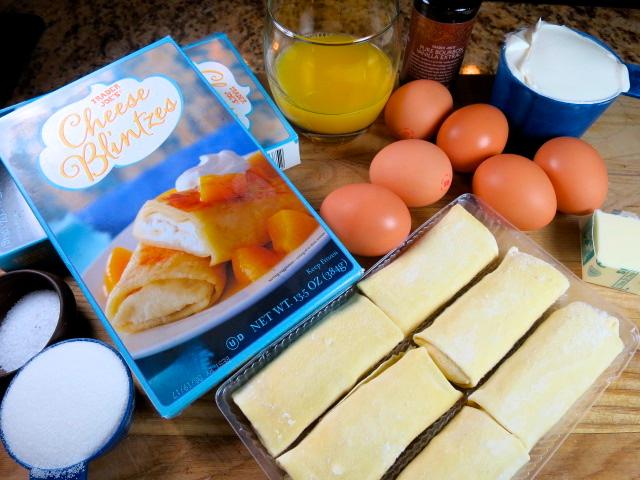 cheese blintz soufflé