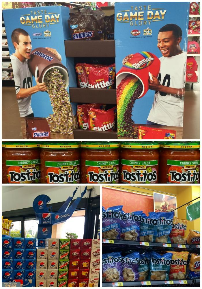 #GameDayGlory at Walmart