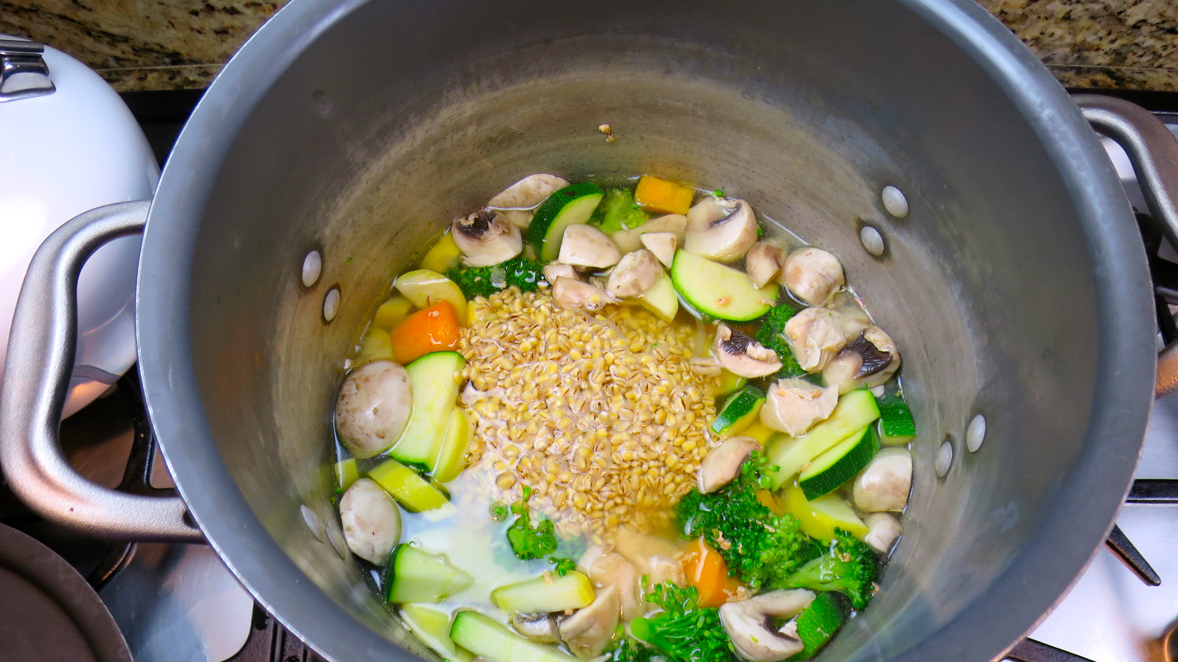 Fast Metabolism Diet Chicken and Barley Soup