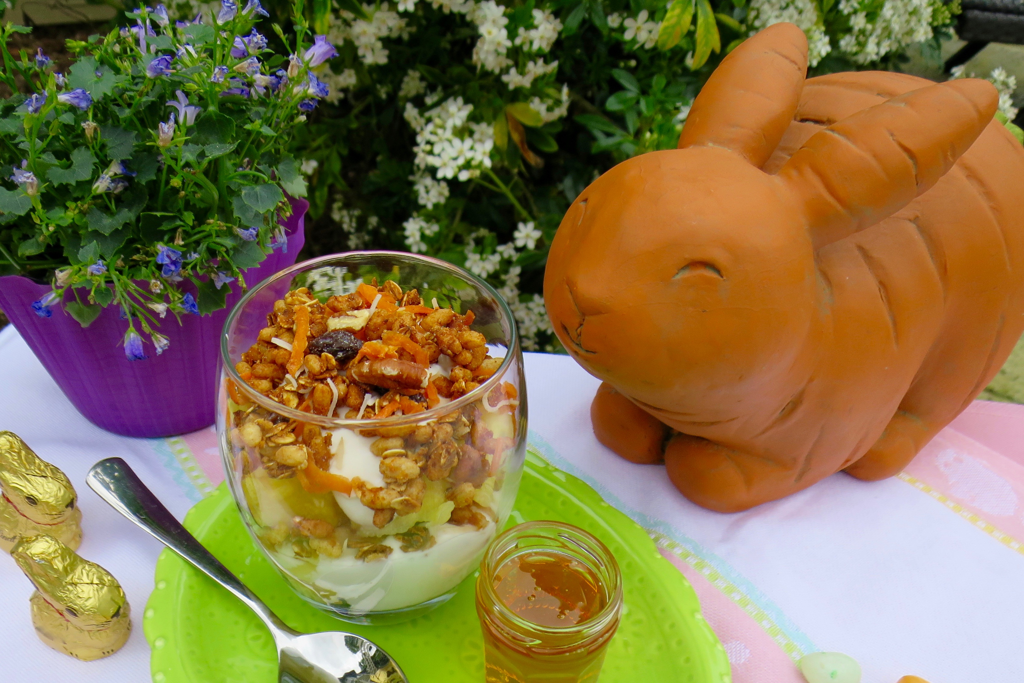 IMG_6272Carrot Cake Granola, Fruit & Yogurt Parfaits