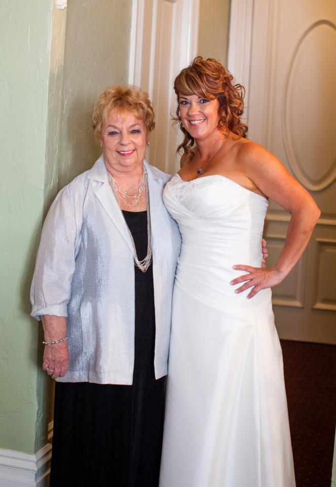 Mom at Wedding