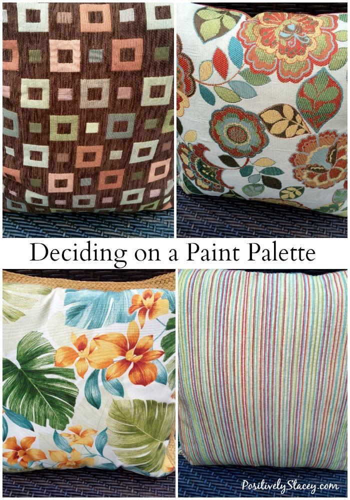 Deciding on a Paint Palette