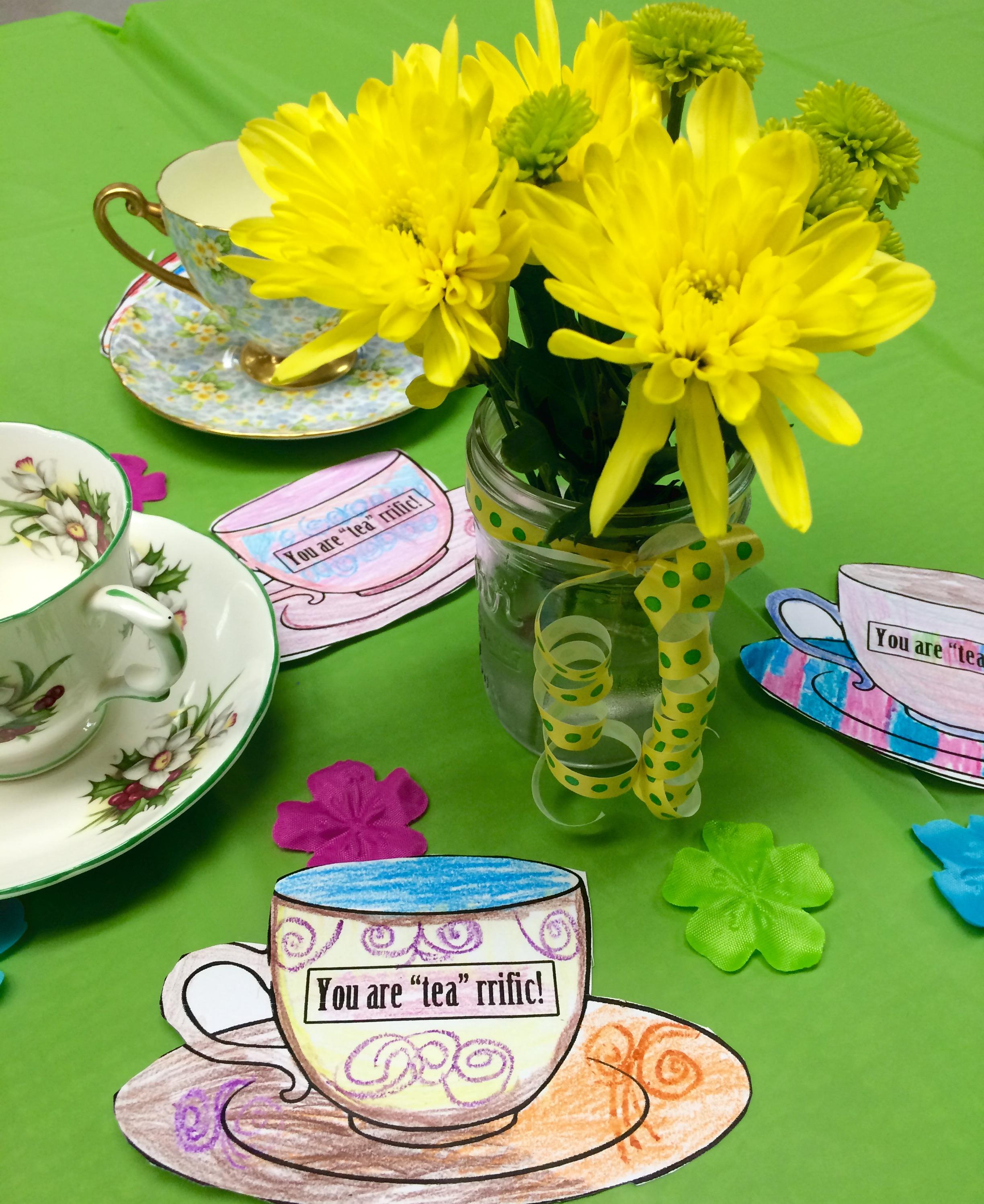 Tea-rriffic Tea Party
