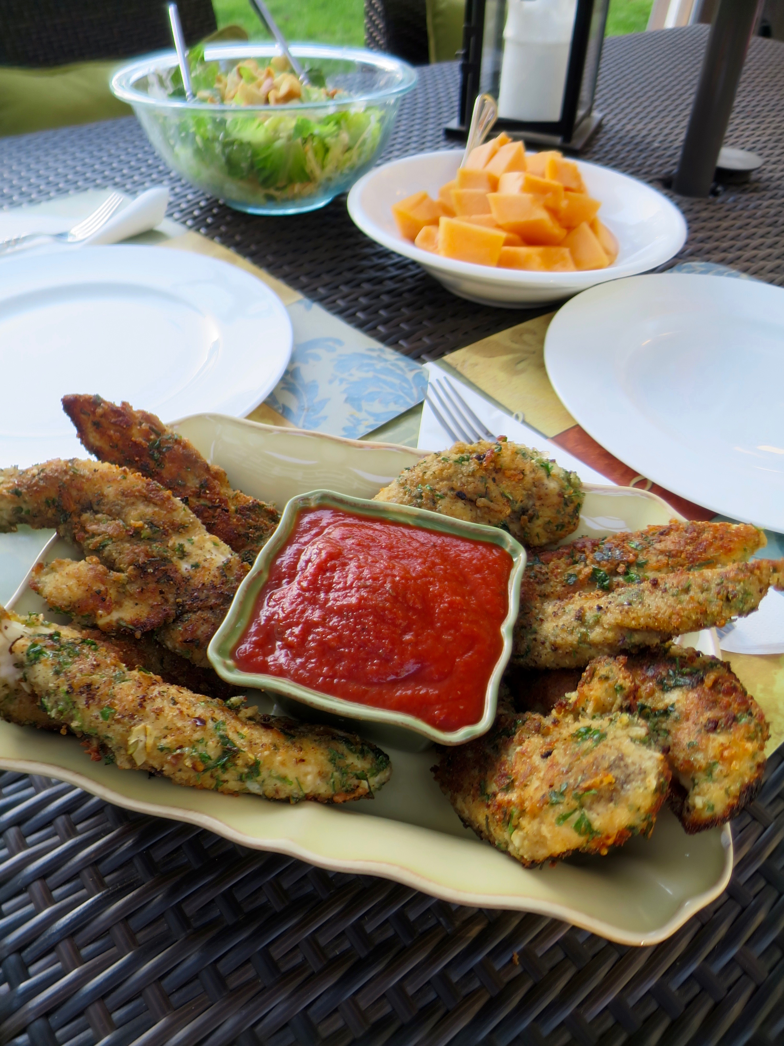 Chicken Tender Parmesan