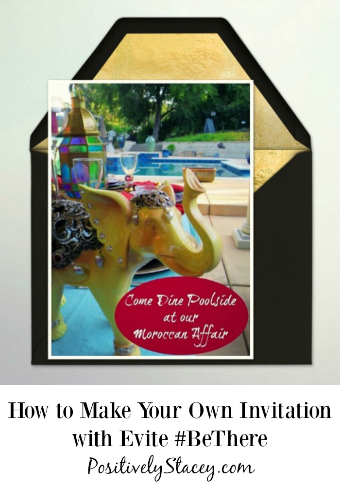It is easy to make your own Invitation with Evite when you want a little more personalization. Here is How to Make Your Own Invitation with Evite #BeThere