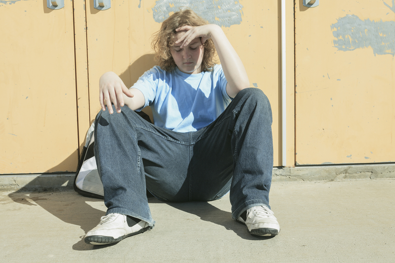 school loner