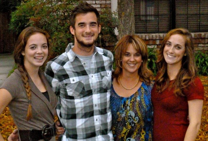 single mom with three kids