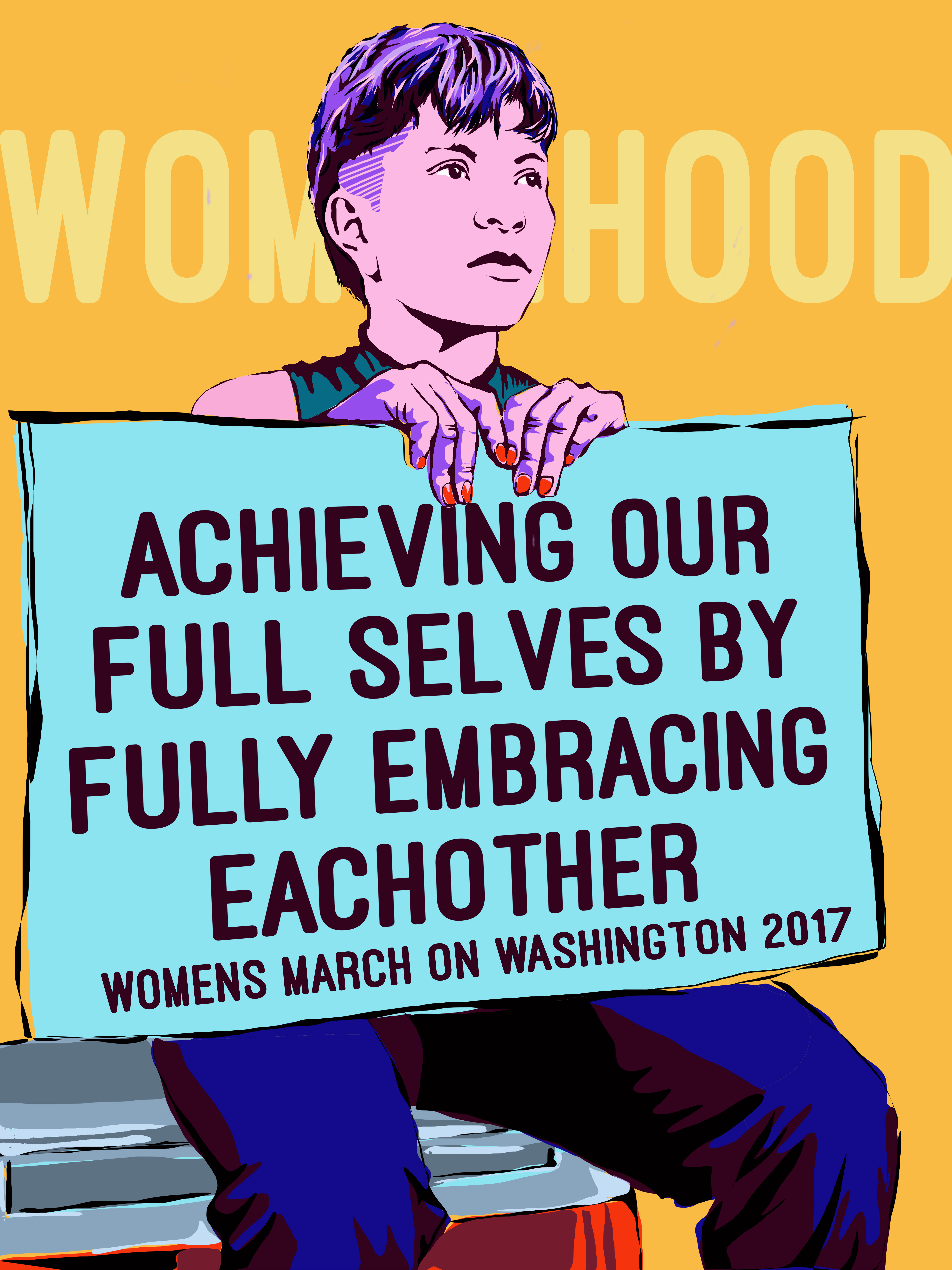 The Women's March on Washington #WhyIMarch