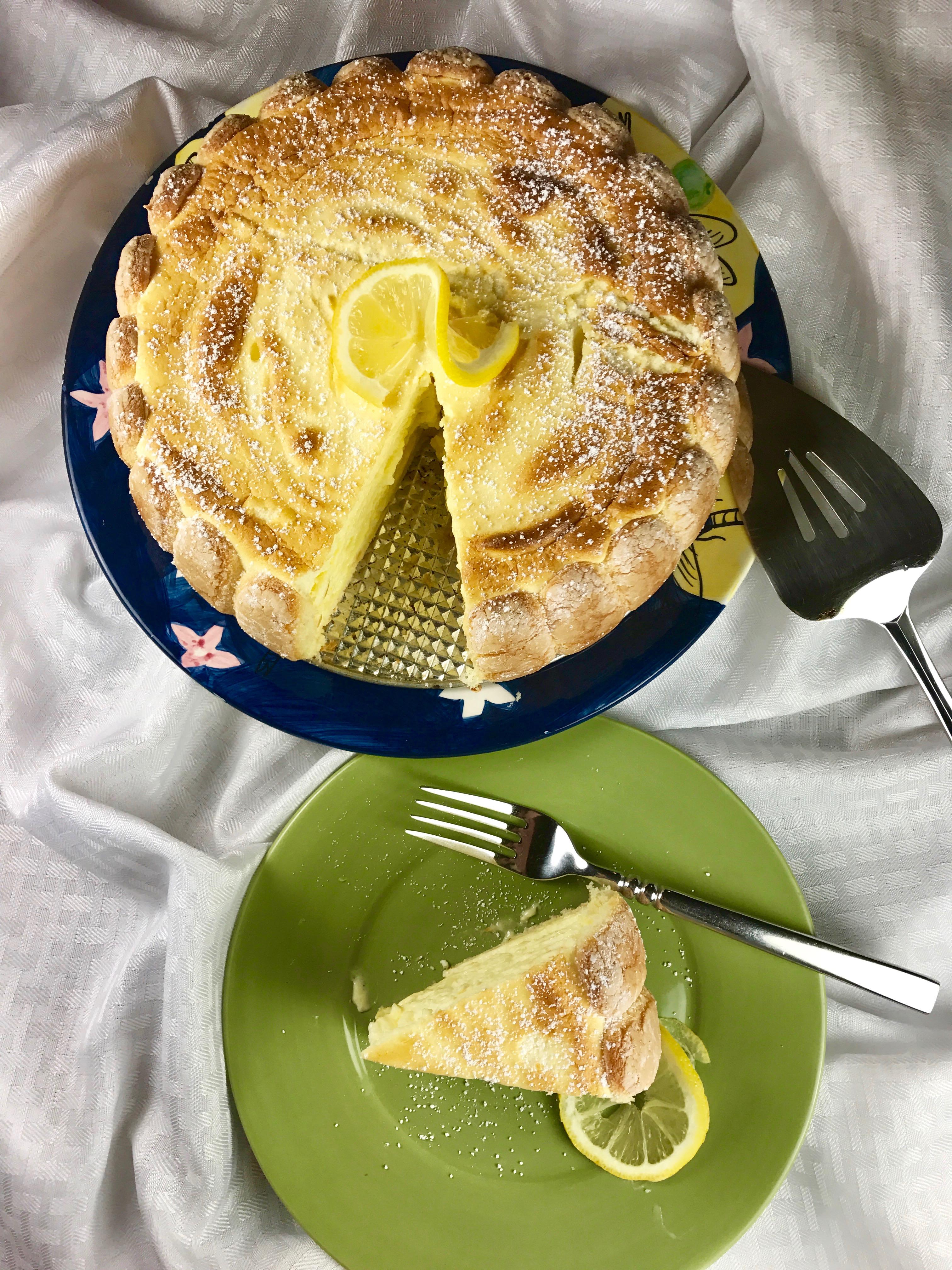 Ladyfinger Lemon souffle