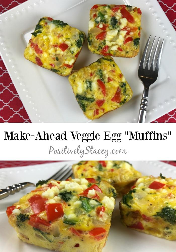 Make-Ahead Veggie Egg Muffins Recipe