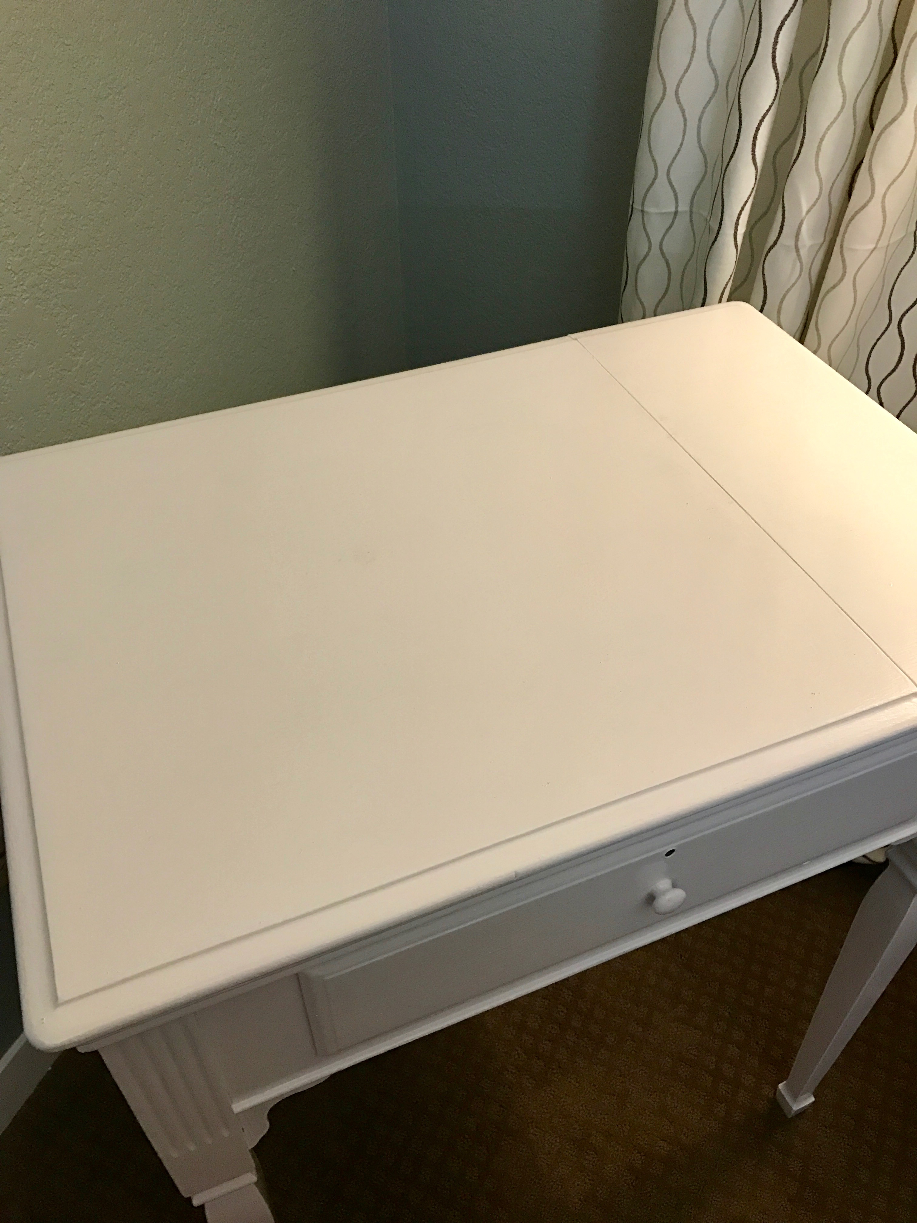 – Painting the Sewing Cabinet