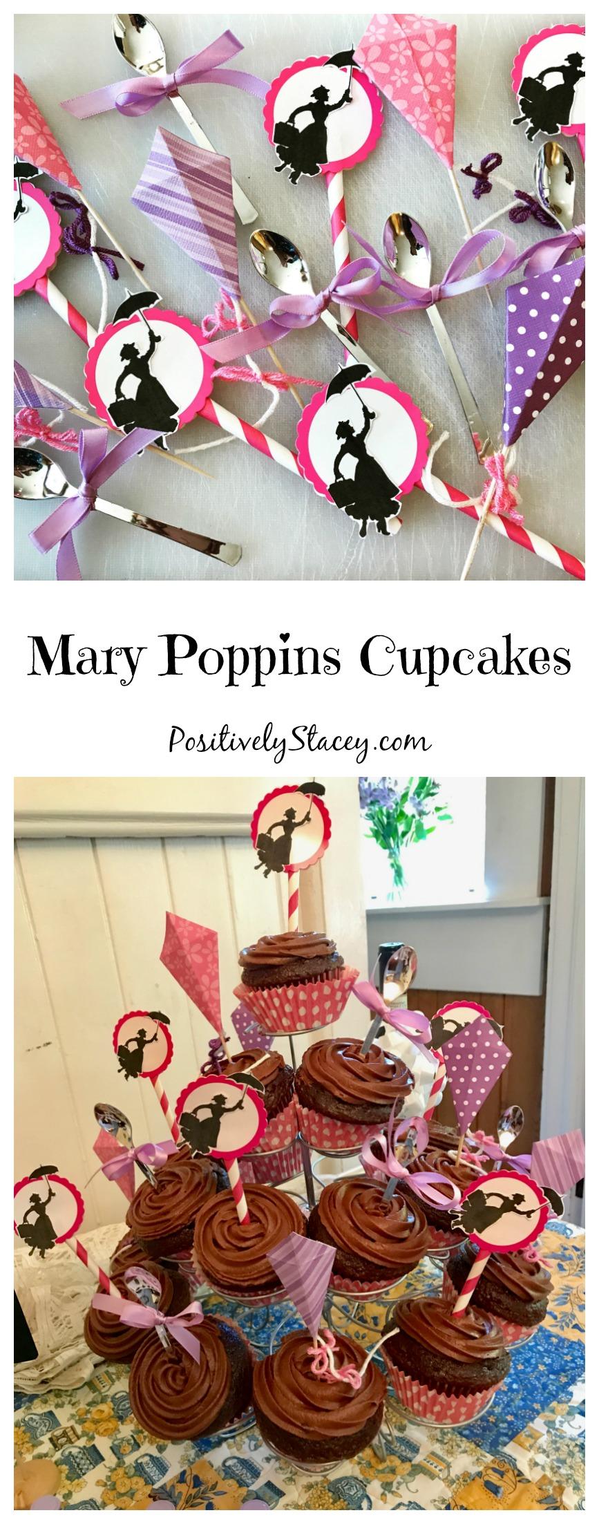 Mary Poppins Cupcakes