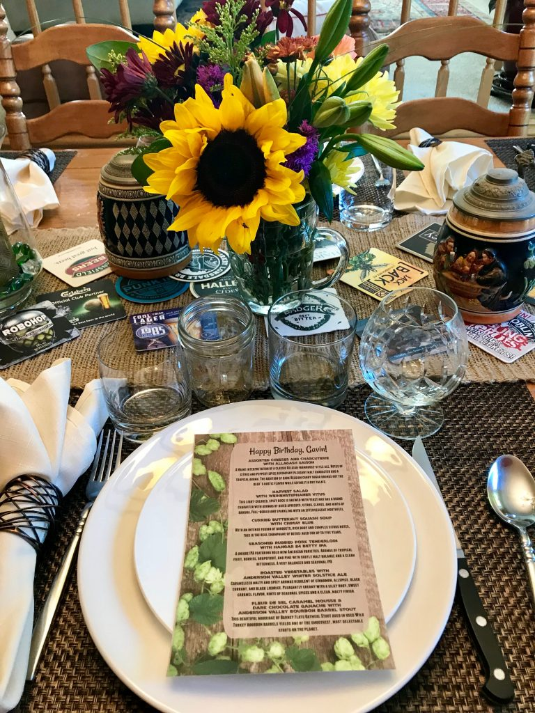 How to Host a Beer and Food Pairing Dinner Party
