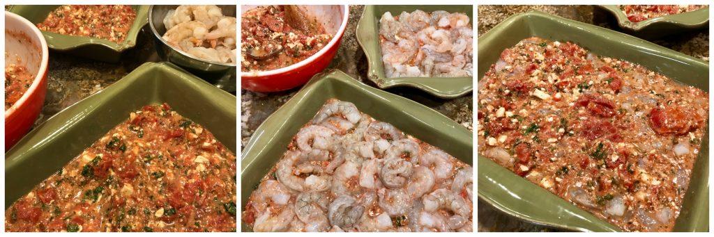 Mediterranean Shrimp Bake Recipe