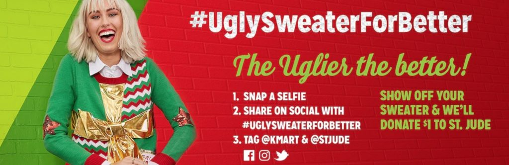 Don Your Ugly Sweater for a Donation to St. Jude Children's Hospital