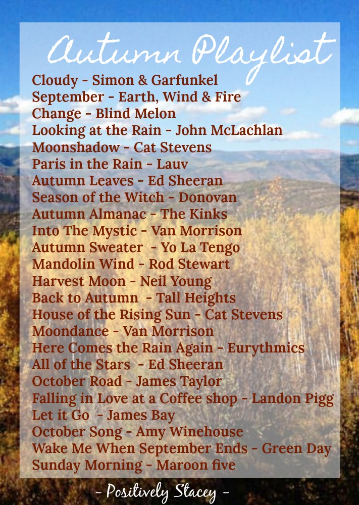 An Autumn Playlist That is Perfect for Fall