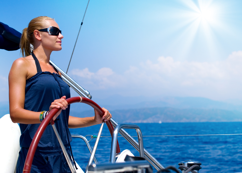 Five Steps to Living with Intention sailboat helm