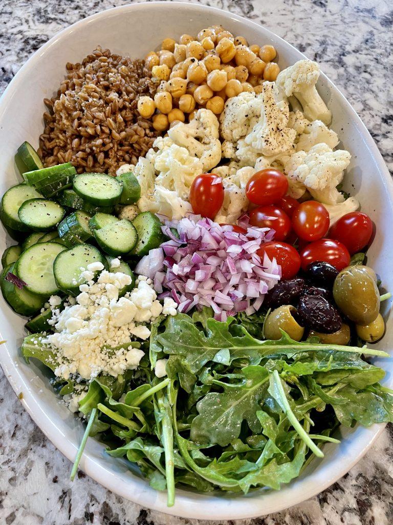 Mediterranean Grain Bowl Recipe