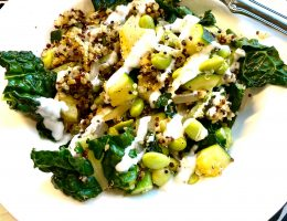 Green Goddess Grain Bowl Recipe